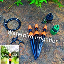 Generic Set A : Misting Sprinkler And Dripper DIY Micro Drip Irrigation System Plant Self Watering Garden Veranda...