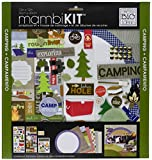me & my BIG ideas 12-Inch by 12-Inch Scrapbook Page Kit, Camping Fun