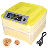 Yescom 96 Digital Egg Incubator Hatcher Temperature Humidity Control Automatic Turning Chicken Bird Duck Dove Goose