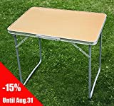 SoBuy Portable Picnic Camping Camp Folding Table, Outdoor Party Banquet Table, So-8810