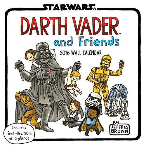 2016 Wall Calendar: Darth Vader and Friends