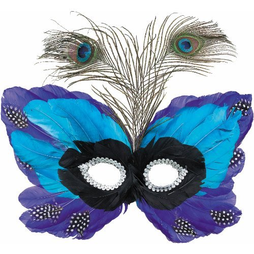 Peacock Feather Mask - 1