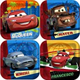 Disney Cars 2 Party Cake/Dessert Plates 8ct