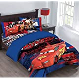 disney pixar cars twin comforter and sheets let the sparks fly b