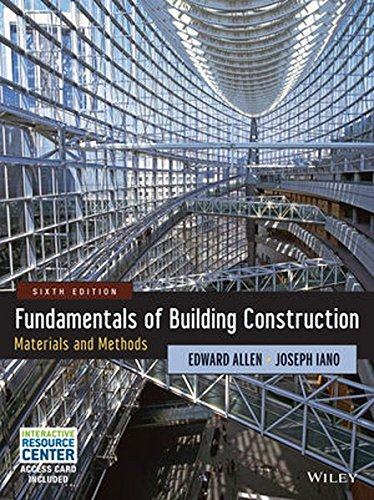 Fundamentals Of Building Construction Materials And