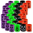 4 Dozen (48) Mini Halloween Magic Springs; Perfect for Trick or Treat; Classroom Giveaways; Party Favors;