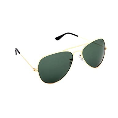 aviator green sunglasses  Elligator Aviator Men\u0027s Sunglasses(Esgav_Gold-Green