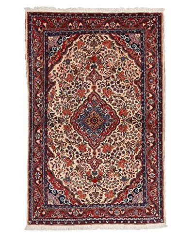 Darya Rugs Persian One-of-a-Kind Rug, Red, 3' 5 x 5'