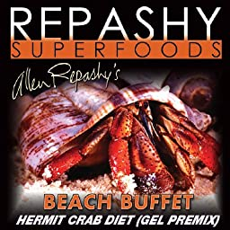 Repashy Beach Buffet Hermit Crab Diet - Food - All Sizes - 6 Oz JAR