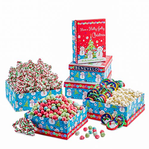 Holly Jolly Christmas Treat Gift Baskets