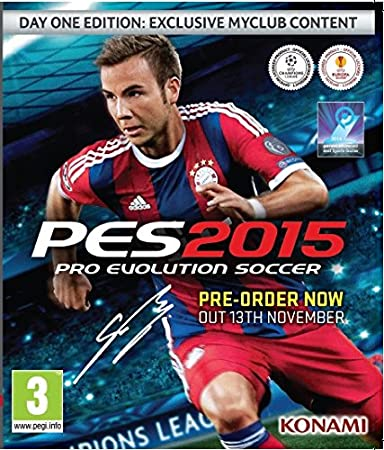 PES 2015 Day 1 Edition (PC DVD)