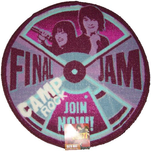 Disney- Camp Rock Bath Rug Mat