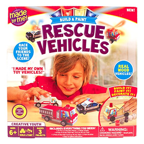 Made by Me Rescue Vehicles - 1