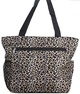 World Traveler Polka Dot Travel Tote Bag