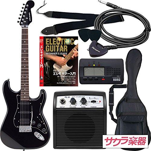 SELDER セルダー エレキギター ストラトキャスタータイプ サクラ楽器オリジナル STH-20/HBK 初心者入門リミテッドセット
