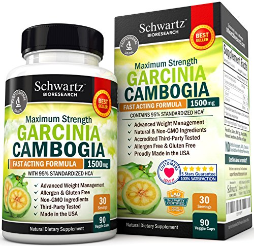 95-HCA-Pure-Garcinia-Cambogia-Extract-Fast-Acting-Appetite-Suppressant-Extreme-Carb-Blocker-Fat-Burner-Supplement-for-Fast-Weight-Loss-Fat-Metabolism-Best-Garcinia-Cambogia-Raw-Diet-Pills