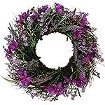 Lavender Blossom Silk Spring Door Wreath