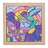 Melissa & Doug Rainbow Garden See Through Window Art