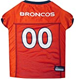 Pets First NFL Denver Broncos Jersey Apparel for Pets, X-Large