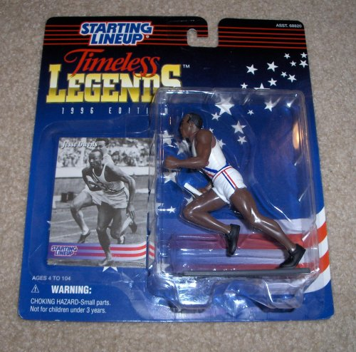 Buy 1996 Jesse Owens Timeless Legends Starting Lineup Figure
