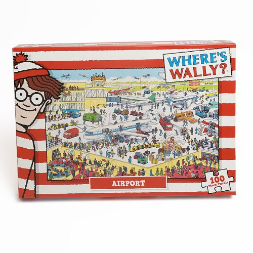 Paul Lamond Where's Wally Puzzle Airport (100 Pieces) - 1