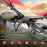 OLOGY® DRONE QUADCOPTER FPV MULTIROTOR WITH FIRST PERSON VIEW FPV LIVE VIDEO FEED Quadcopter Camera Photo Video Feed Video Record Quadcopter Camera Multicopter Aerial Photography Drone UAV -- Special Upgraded AV AXIS - BLACK DRONE