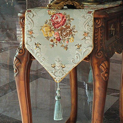 Drapeau américain/Style européen vin armoire nappe/ drapeau/ drapeau/ Gabe/ décoratives/ table/ table-F 35x240cm(14x94inch)