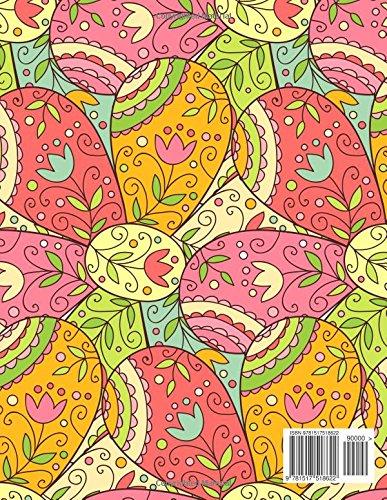 Pretty Flower Pattern 2016 Monthly Planner