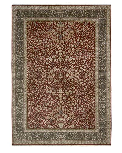 One Of A Kind Oriental Rug, Charcoal, 10' x 14'