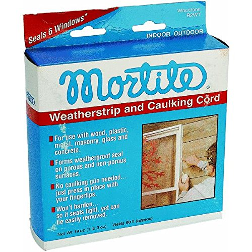 Thermwell Products Co. B2WT Mortite Weatherstrip And Caulking Cord