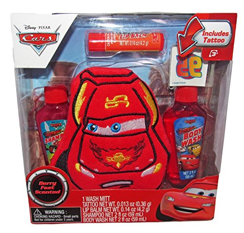 Disney Cars 5pc Bath Time Set - 1