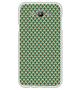 iFasho Animated Pattern of Chevron Arrows royal style Back Case Cover for Samsung J5