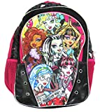 Monster High Ghoul Scouts 16 inch Backpack - Black
