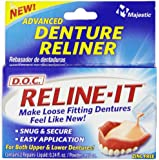 D.O.C. Reline-It Denture Reliner, Advanced, 2 ct.
