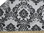 58'' Wide Flocked Damask Taffeta / $2...