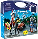 PLAYMOBIL Carrying Case Knights Playset, 5972, 34pc