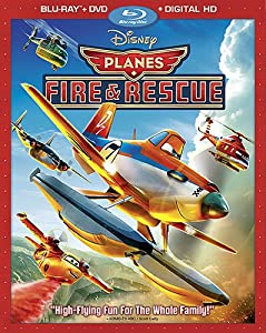 Planes Fire and Rescue (2-Disc Blu-ray Combo Pack) from Walt Disney Studios Home Entertainment