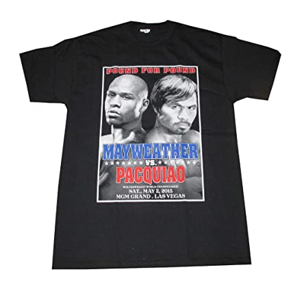 Floyd Mayweather vs. Manny Pacquiao Fight Poster Boxing Event T