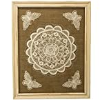 Framed Lace Wall Art