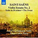 Saint-Sa�ns : Musique pour Violon et Piano (Int�grale - Volume 2)
