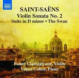 Saint-Saëns : Musique pour Violon et Piano (Intégrale - Volume 2)