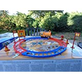 "The Little Engine Train Windup Power 10"" Track Set Diameter With All Accessories 11 Pcs Play Set & F"