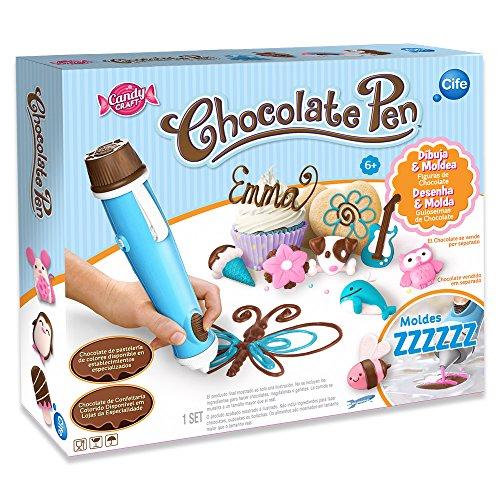 CIFE - Chocolate Pen, juego para cocinar (Skyrocket Toys LLC 40281)