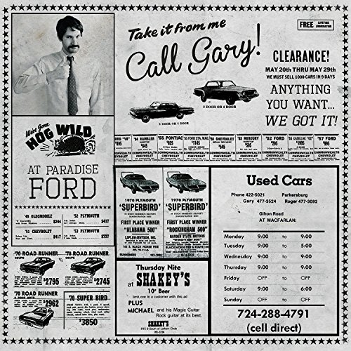 Cassette : Gary - Used Cars / Wish You Were Hair (Digital Download Card)