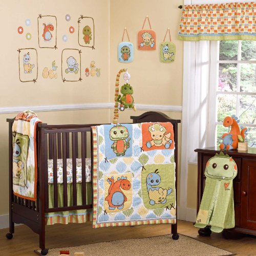 Cocalo 8 Piece Crib Set, Dinos At Play
