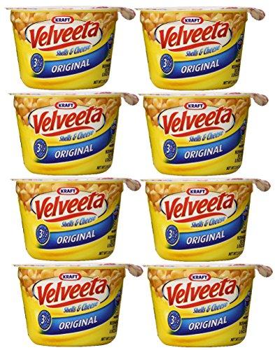 Kraft Velveeta Shells and Cheese Original,8 Microwaveable Single Serve Cups, Net WT 19.1 Ounce (Single Serve Cheese compare prices)