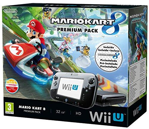 Nintendo Wii U + Mario Kart 8 Premium Pack con SW Pre-Installato [Bundle]