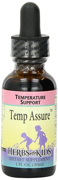 Отзывы Herbs For Kids Temp-Assure Alcohol-Free