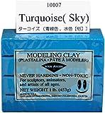 Van Aken Plastalina Modeling Clay 1 lb. bar turquoise