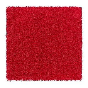 Ikea tapis rouge